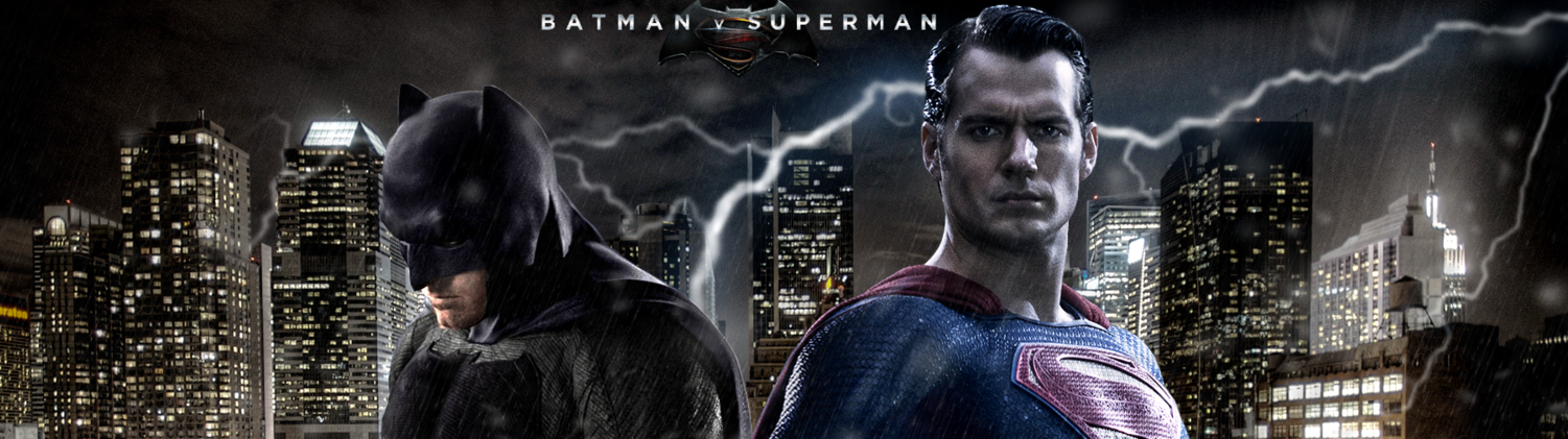 Copertina Batman V Superman