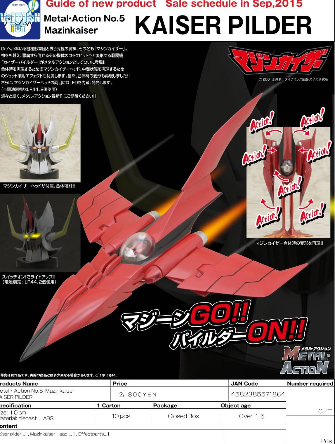 Link a Evolution Toy  Mazinkaiser KAISER (1)