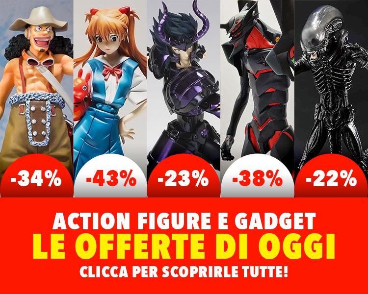offerte action figure