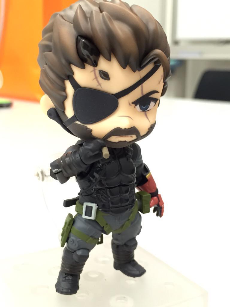 Link a Venom Snake Nendoroid – Metal Gear Solid – GSC pic 01