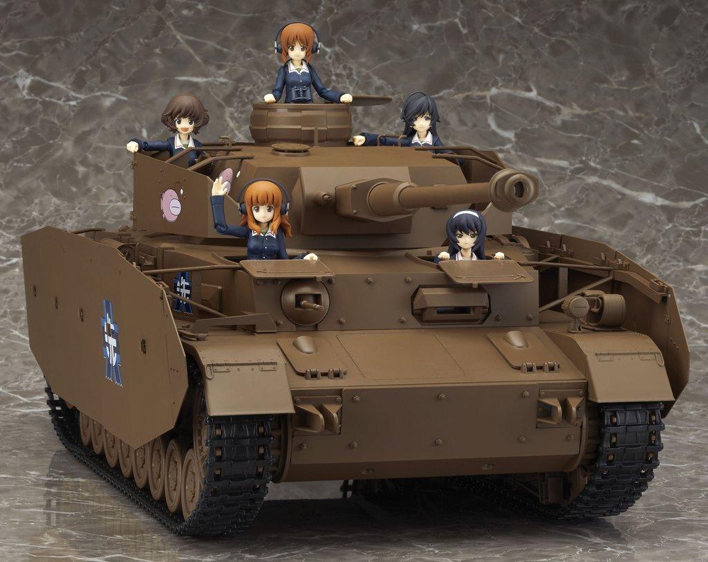 Link a figma Veichles Panzer IV Ausf H Girls und Panzer pics 01