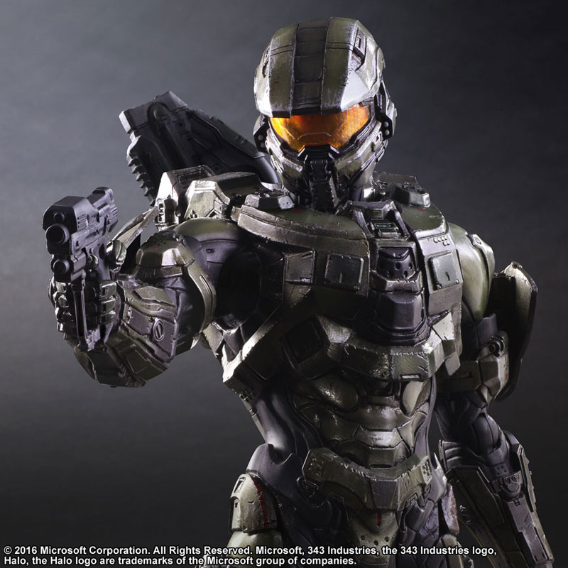 Link a Halo 5 Guardians Master Chief – Play Arts Kai Square Enix pre 07