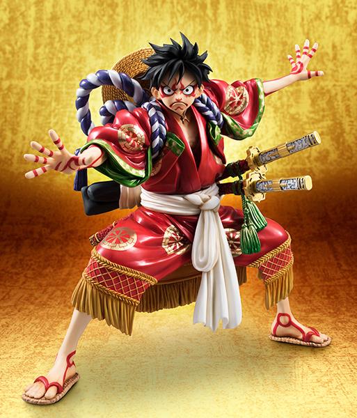 Link a Monkey D Luffy Kabuki POP – One Piece MegaHouse pre 01