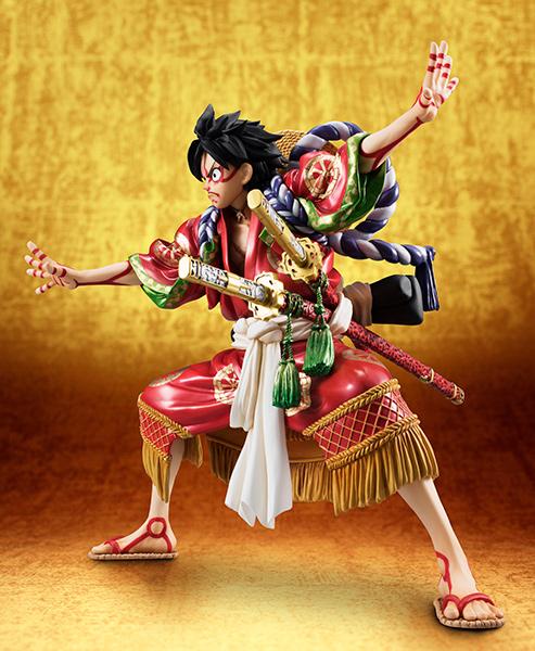 Link a Monkey D Luffy Kabuki POP – One Piece MegaHouse pre 02