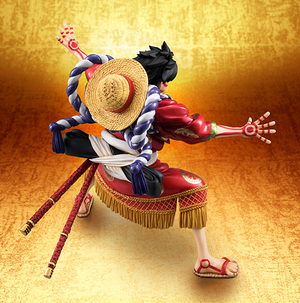 Link a Monkey D Luffy Kabuki POP – One Piece MegaHouse pre 09