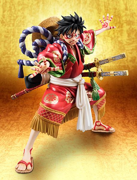 Link a Monkey D Luffy Kabuki POP – One Piece MegaHouse pre 11