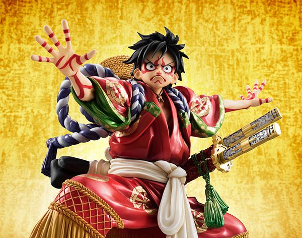 Link a Monkey D Luffy Kabuki POP – One Piece MegaHouse pre 12