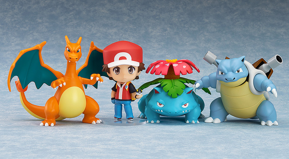 Link a Nendoroid Pokemon Trainer Red Champion Ver GSC pre 01