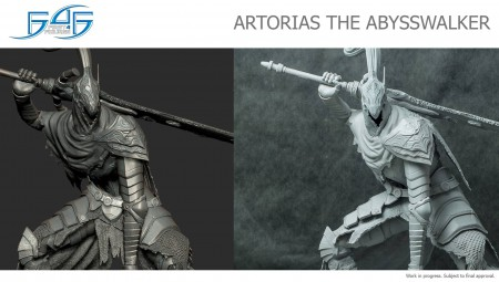 Dark Souls: la statua di Artorias The Abysswalker da First 4