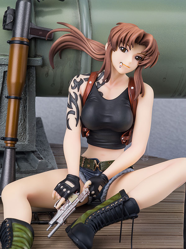 Link a Revy DX Edition – Black Lagoon – New Line preorder 04