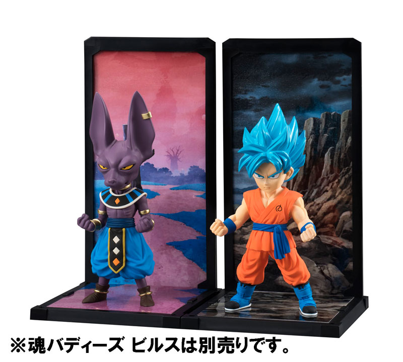 Link a Goku Super Saiyan God SS Tamashii Buddies Dragon Ball Super Bandai pre 04