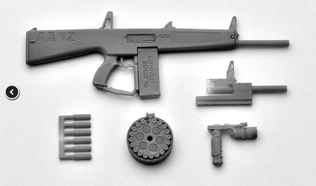 Link a Little Armory LA018 AA-12 Tomytec 03