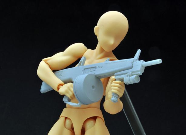 Link a Little Armory LA018 AA-12 Tomytec 04