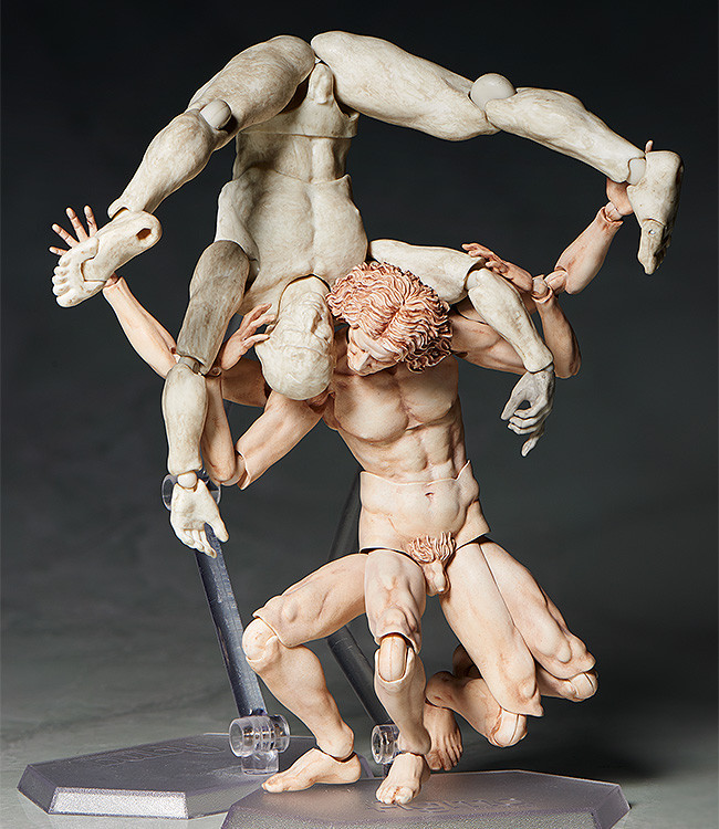 Link a figma VItruvian Man The Table Museum FREEing pre 05
