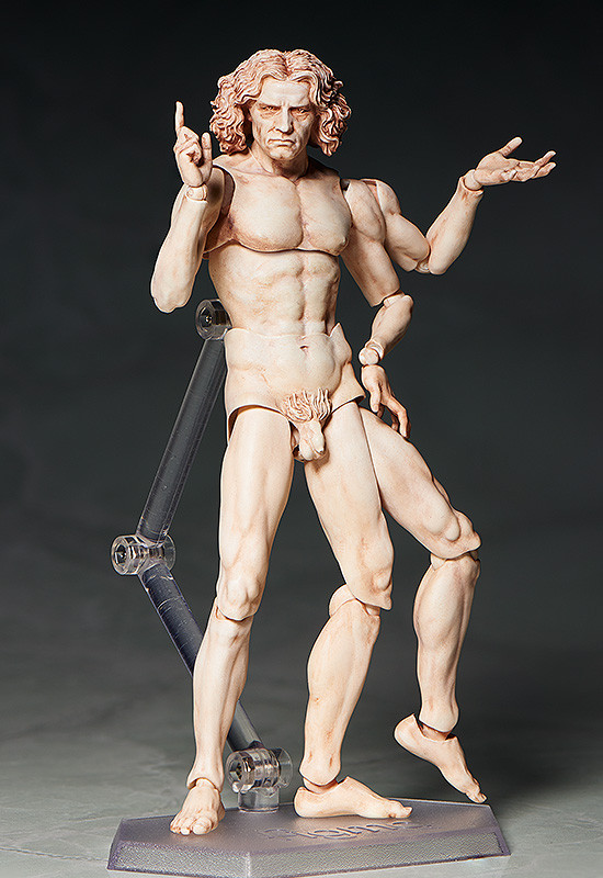 Link a figma VItruvian Man The Table Museum FREEing pre 06