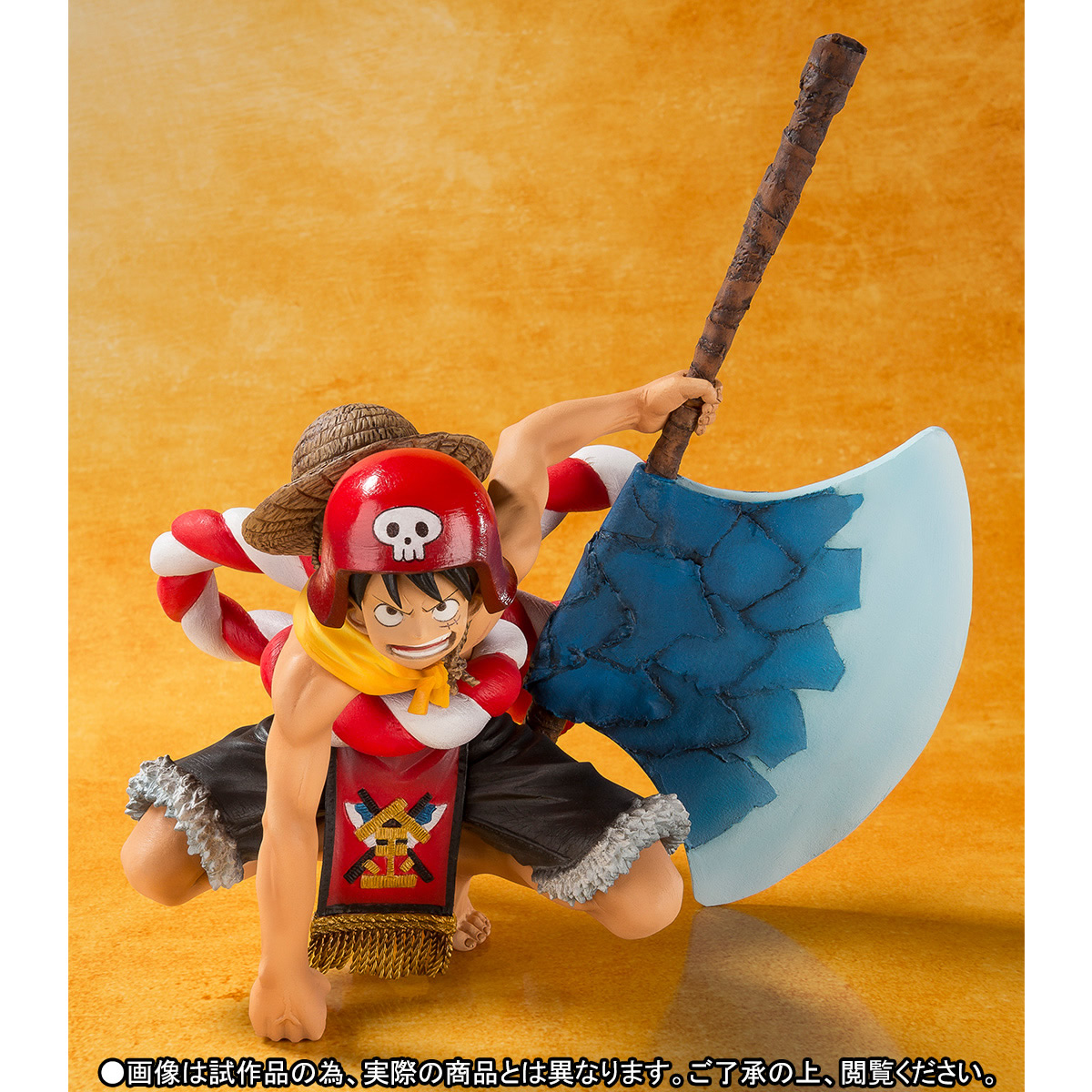 Link a One Piece Gold Monkey D Luffy Figuarts ZERO bandai pics 02