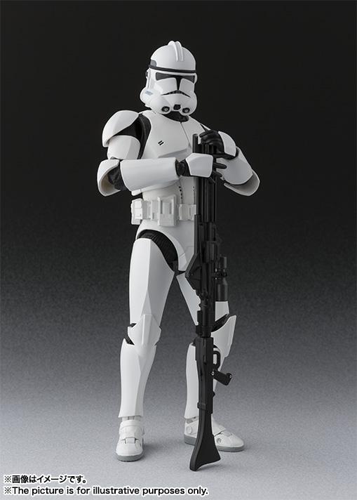 Link a Star Wars Clone Trooper SH Figuarts Bandai pics 03