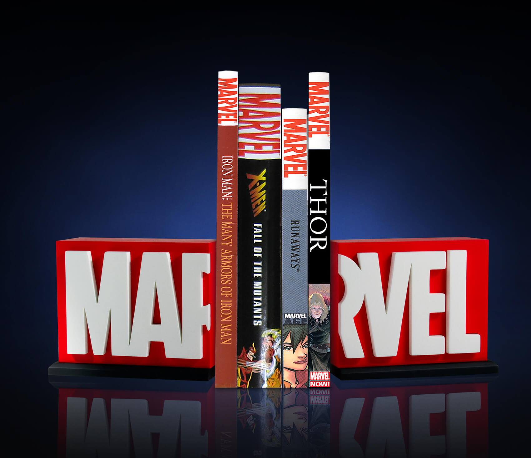 Link a Marvel-Logo-Bookends-004