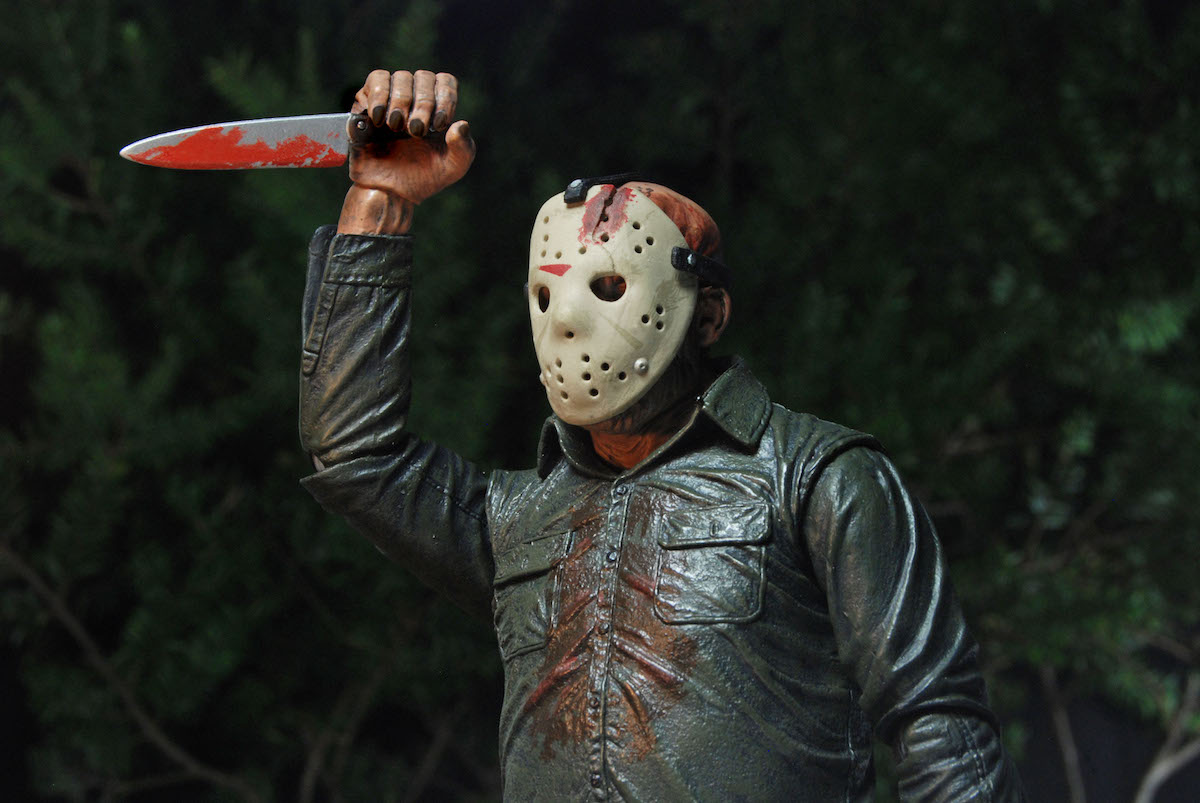 Friday the 13th Part 2 Ultimate Venerdì 13 Parte 2 scala 1//4 Jason Voorhe NECA