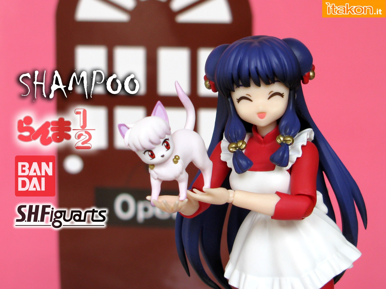 Link a 000 Recensione Shampoo SH Figuarts Bandai Ranma