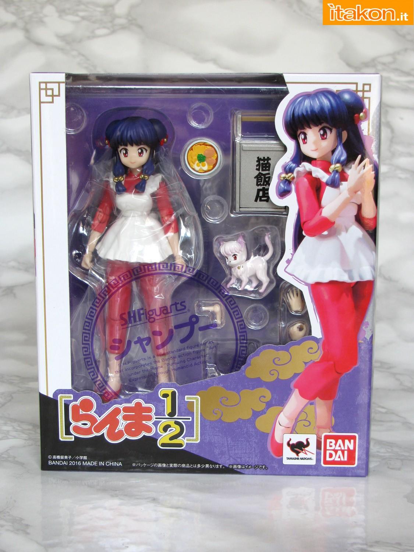 Link a 001 Recensione Shampoo SH Figuarts Bandai Ranma