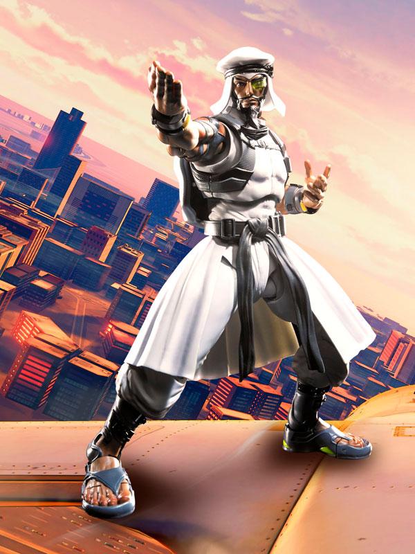 Link a Rashid SH Figuarts Bandai Street Fighter pre 02