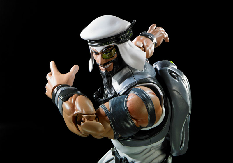 Link a Rashid SH Figuarts Bandai Street Fighter pre 03