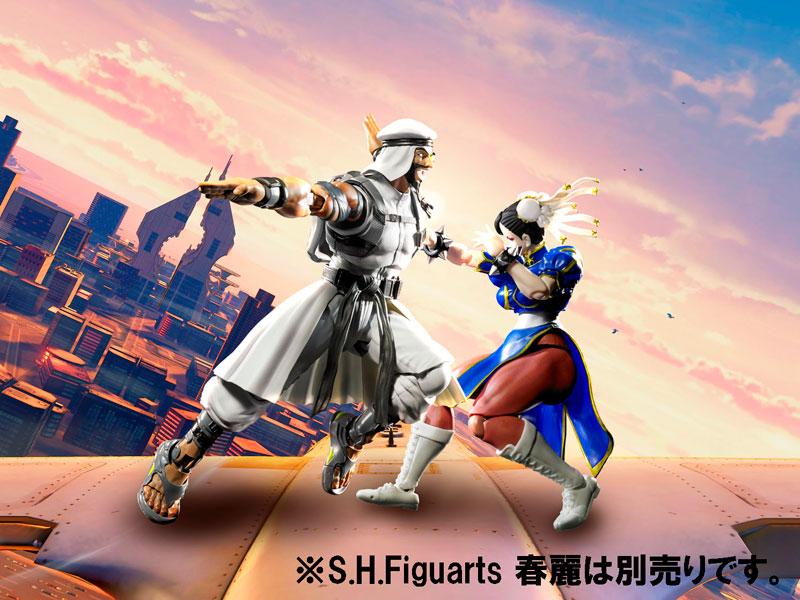 Link a Rashid SH Figuarts Bandai Street Fighter pre 06