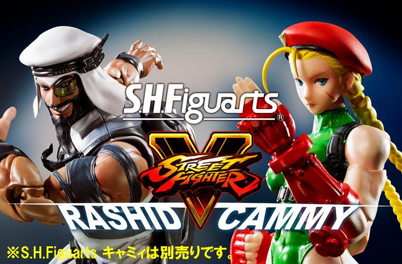 Link a Rashid SH Figuarts Bandai Street Fighter pre 07