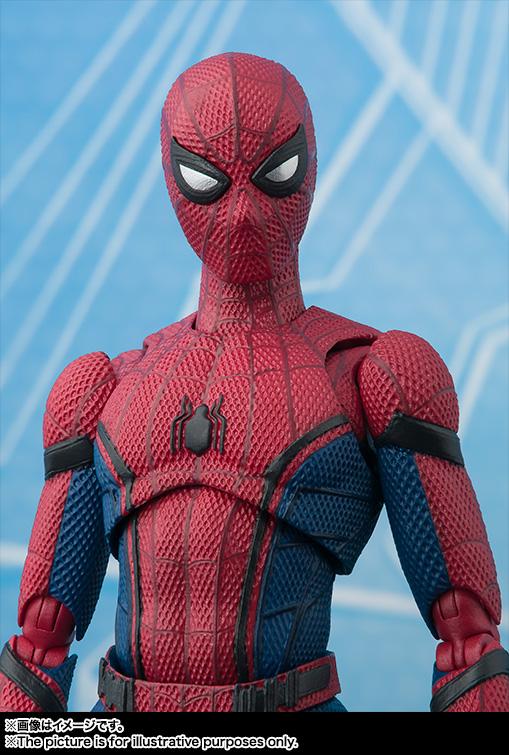 Link a Spiderman SH Figuarts pre Bandai 15