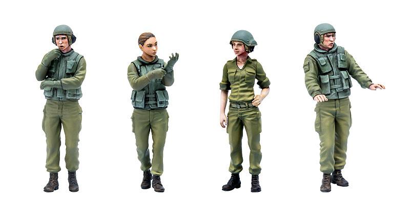 Link a PLAMAX 35 Israel Defense Forces Tank Crew 02