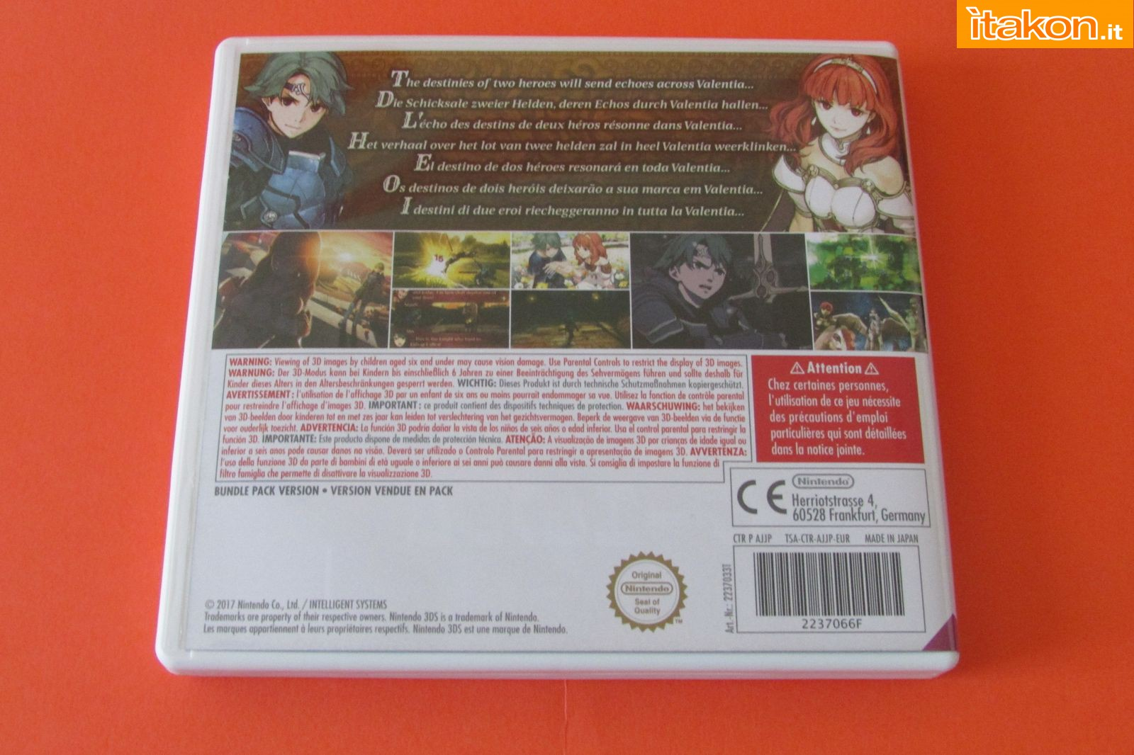 Link a Fire Emblem Echoes Shadow of Valentia Limited Edition 101