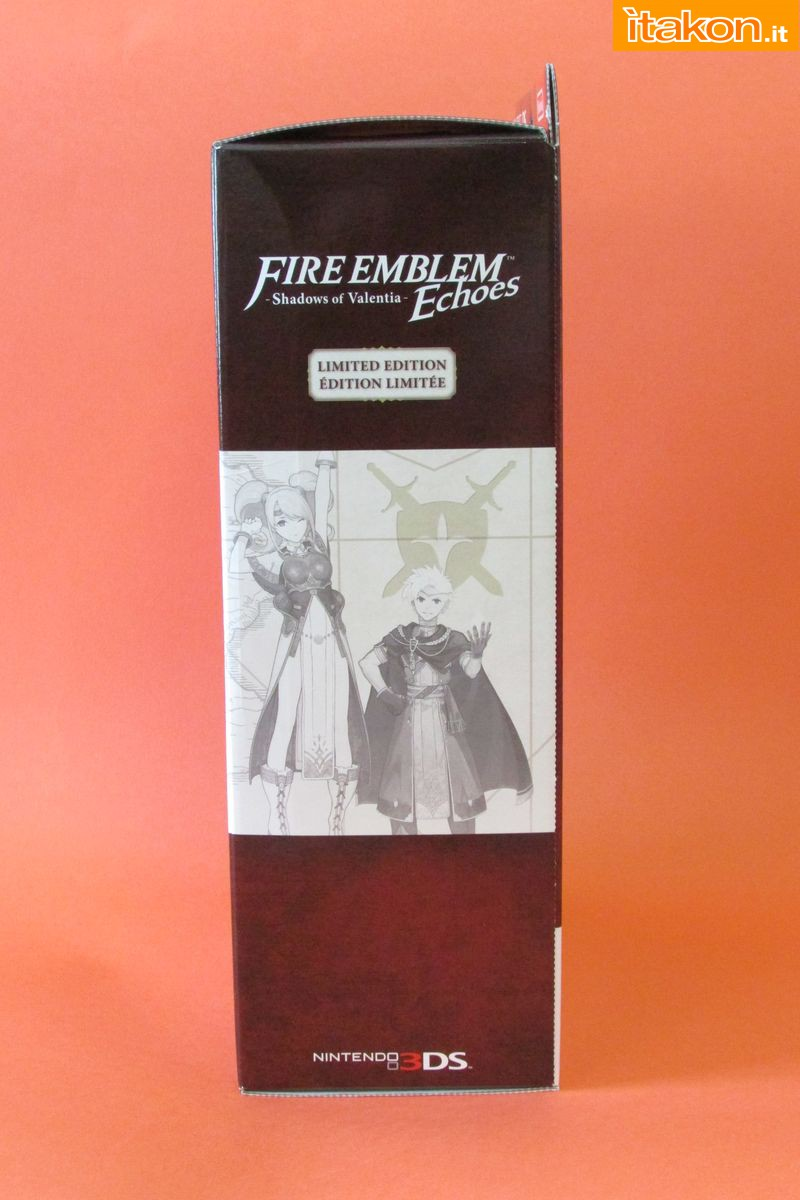 Link a Fire Emblem Echoes Shadow of Valentia Limited Edition Itakon.it 16