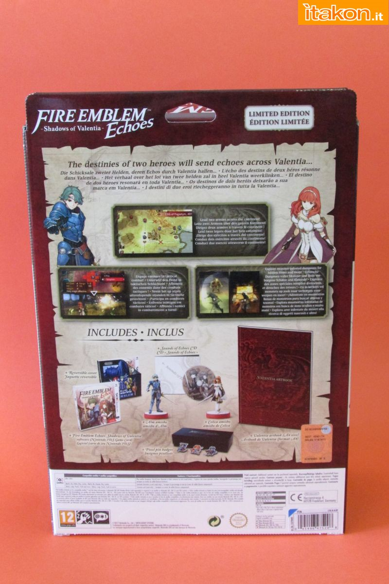Link a Fire Emblem Echoes Shadow of Valentia Limited Edition Itakon.it 17