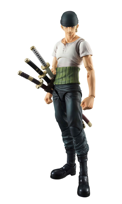 Link a One Piece Zoro VAH Past Blue MegaHouse 04