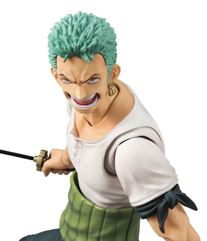 Link a One Piece Zoro VAH Past Blue MegaHouse 11