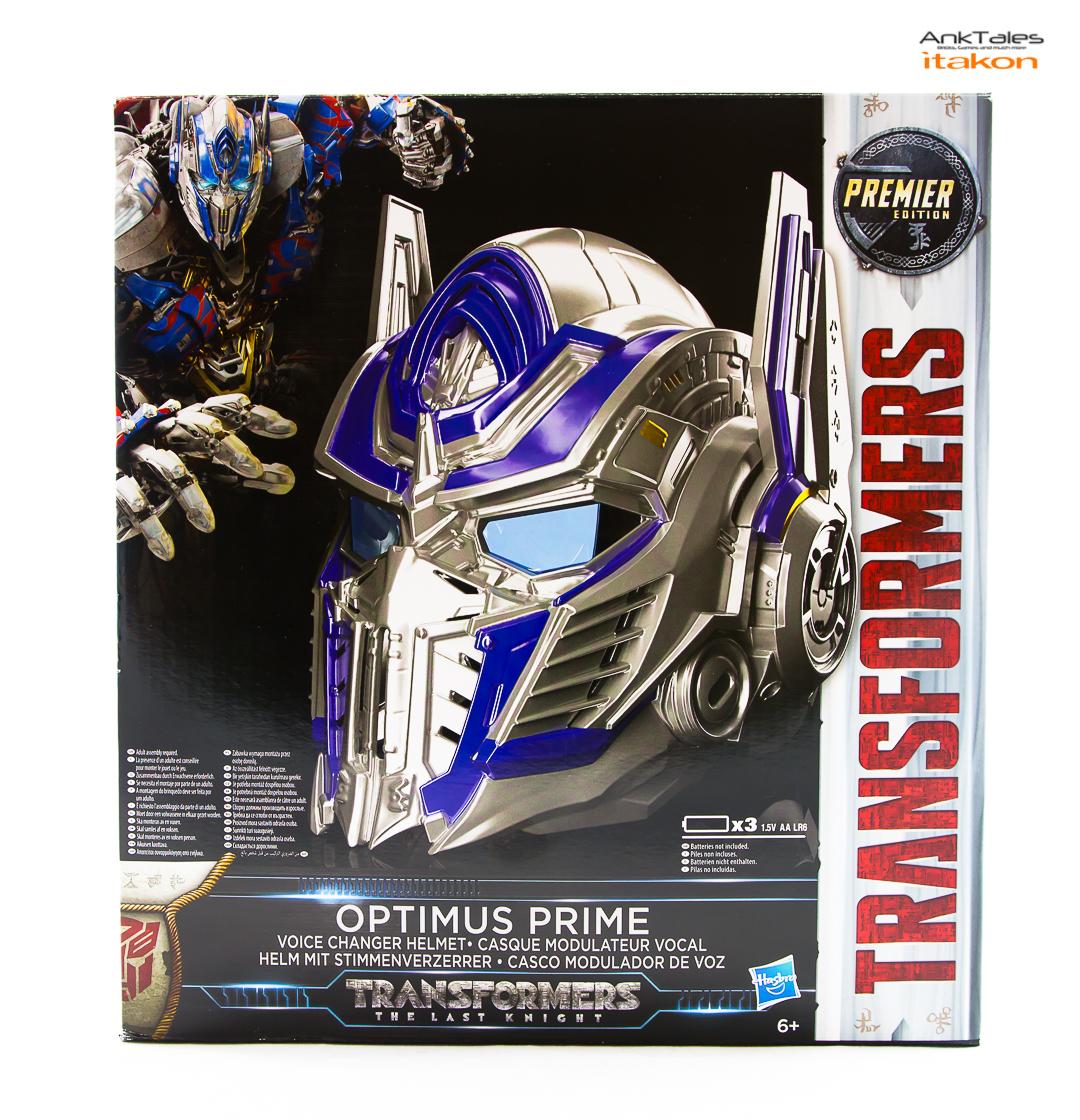Link a Hasbro Optimus Prime helmet Anktales Itakon_0001