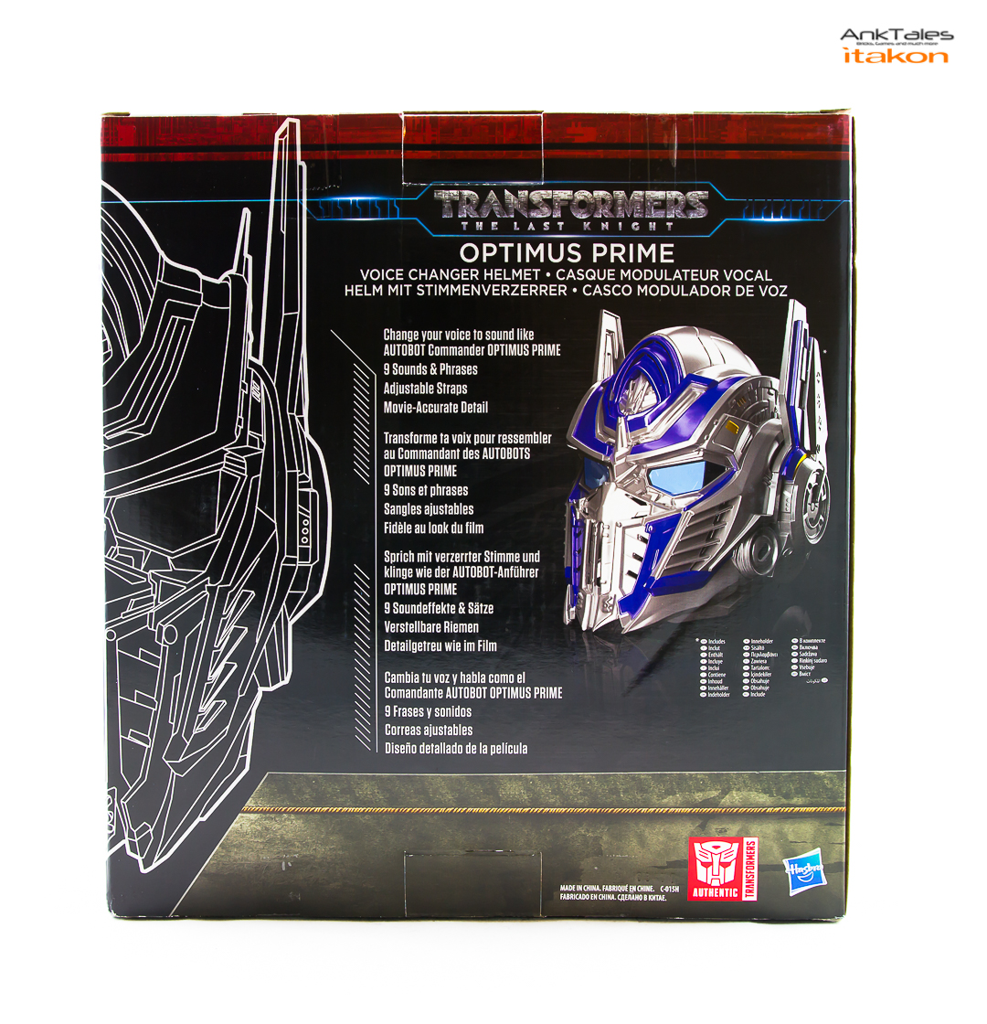 Link a Hasbro Optimus Prime helmet Anktales Itakon_0003