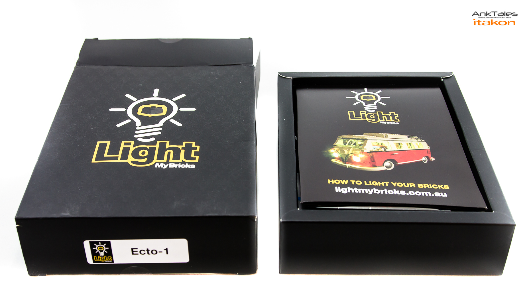 Link a Light My Bricks Ecto-1 Ghostbusters Review AnkTales Itakon_0008