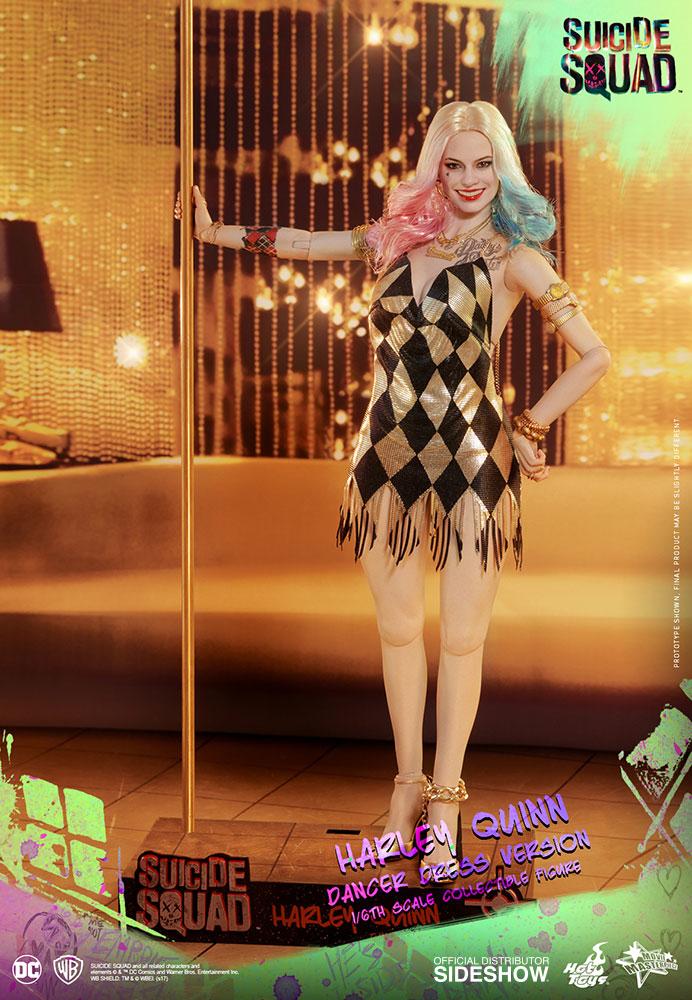 Link a DC Comics Harley Quinn (Dancer Dress Version) Sixth Scale Figure Hot Toys Itakon.it01
