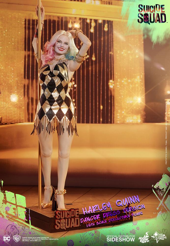 Link a DC Comics Harley Quinn (Dancer Dress Version) Sixth Scale Figure Hot Toys Itakon.it03
