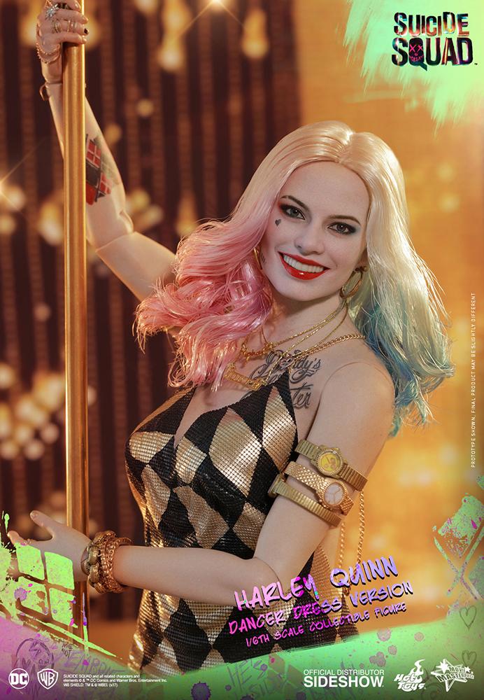 Link a DC Comics Harley Quinn (Dancer Dress Version) Sixth Scale Figure Hot Toys Itakon.it07