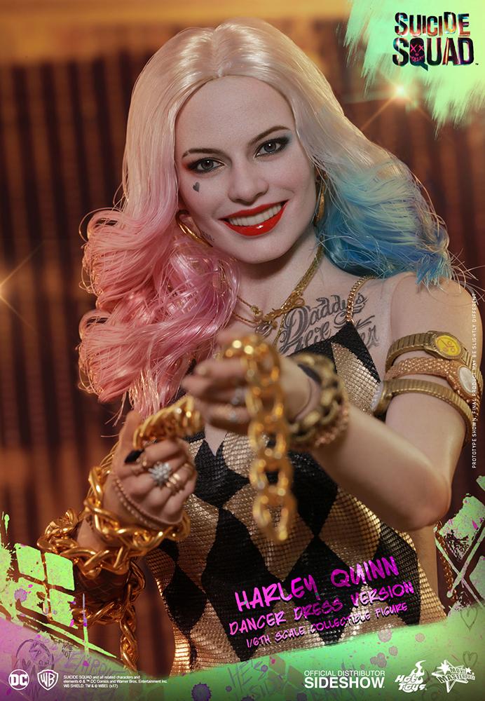 Link a DC Comics Harley Quinn (Dancer Dress Version) Sixth Scale Figure Hot Toys Itakon.it08