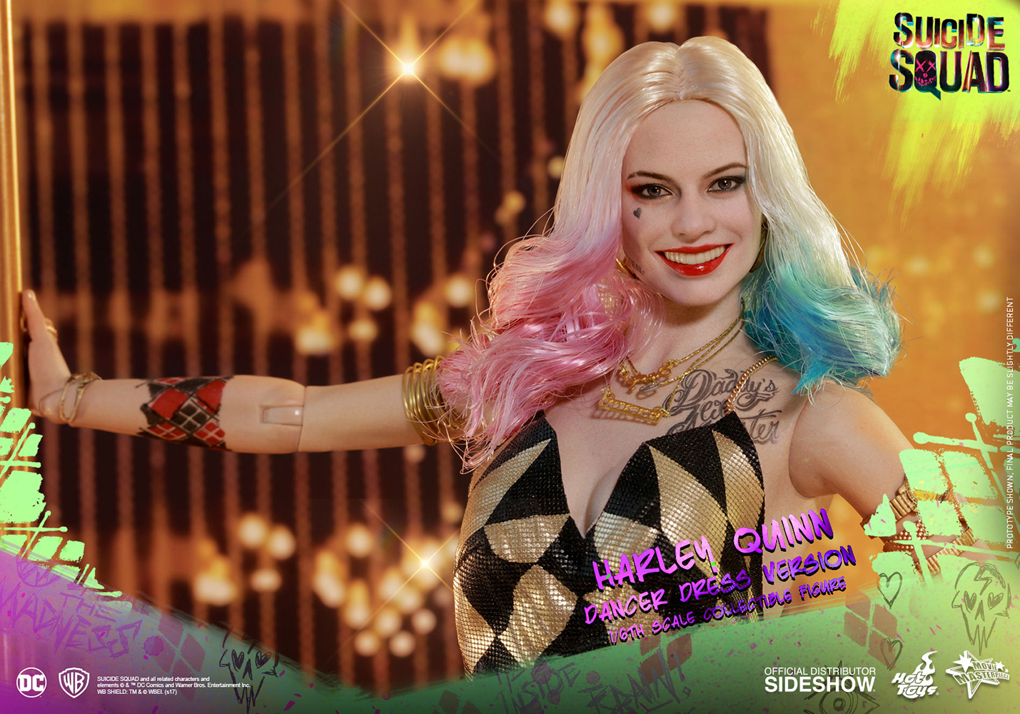 Link a DC Comics Harley Quinn (Dancer Dress Version) Sixth Scale Figure Hot Toys Itakon.it11