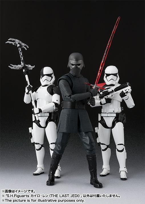 Link a Kylo Ren Star Wars SH Figuarts pics 06