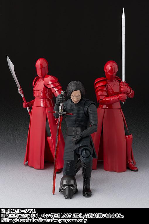 Link a Kylo Ren Star Wars SH Figuarts pics 07