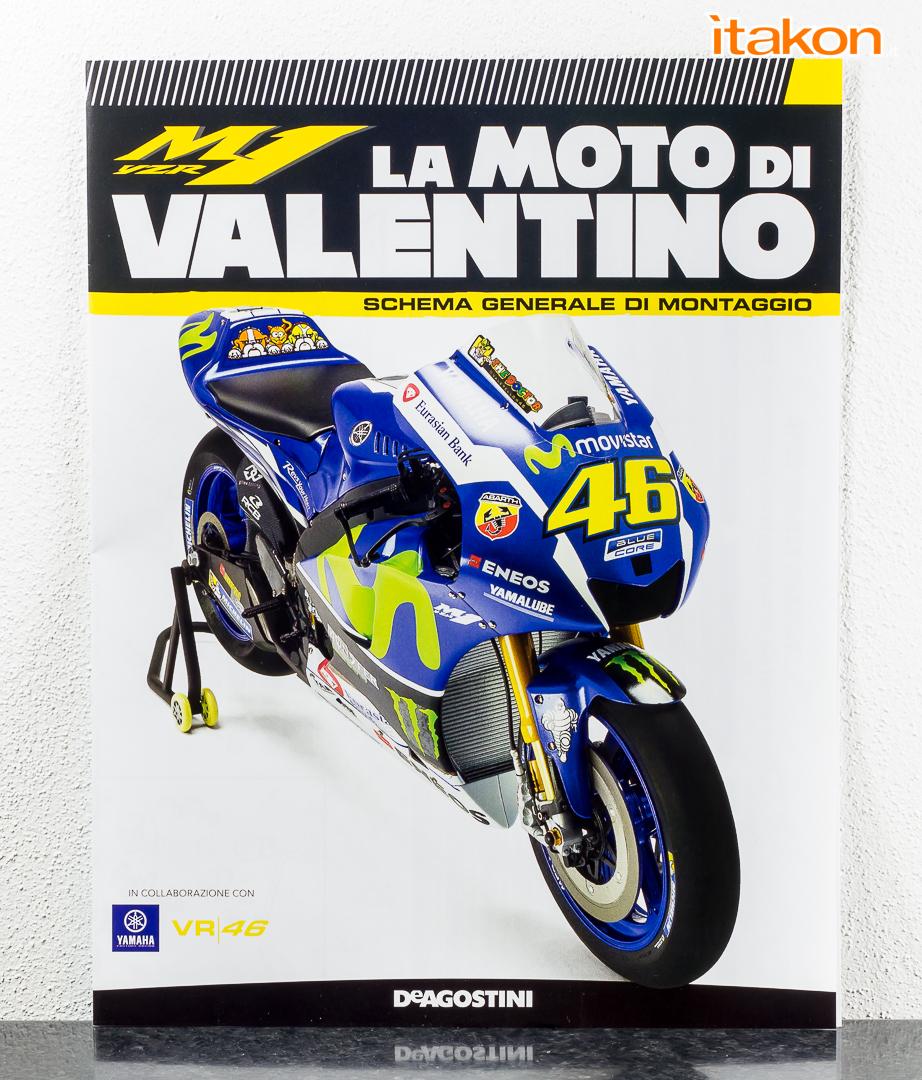 Link a La M1 di Valentino Rossi DeAgostini in scala 1-4-9