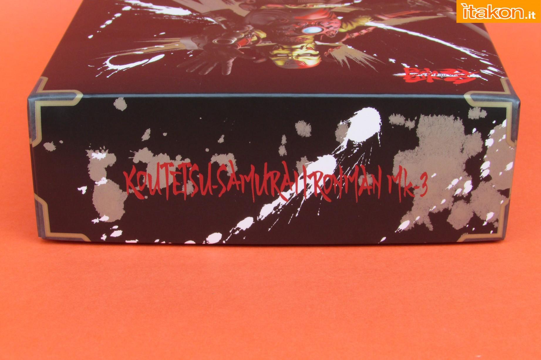 Link a Marvel Comics Koutetsu Samurai Iron Man Mark 3 Meishou MANGA REALIZATION review Bandai Itakon.it03