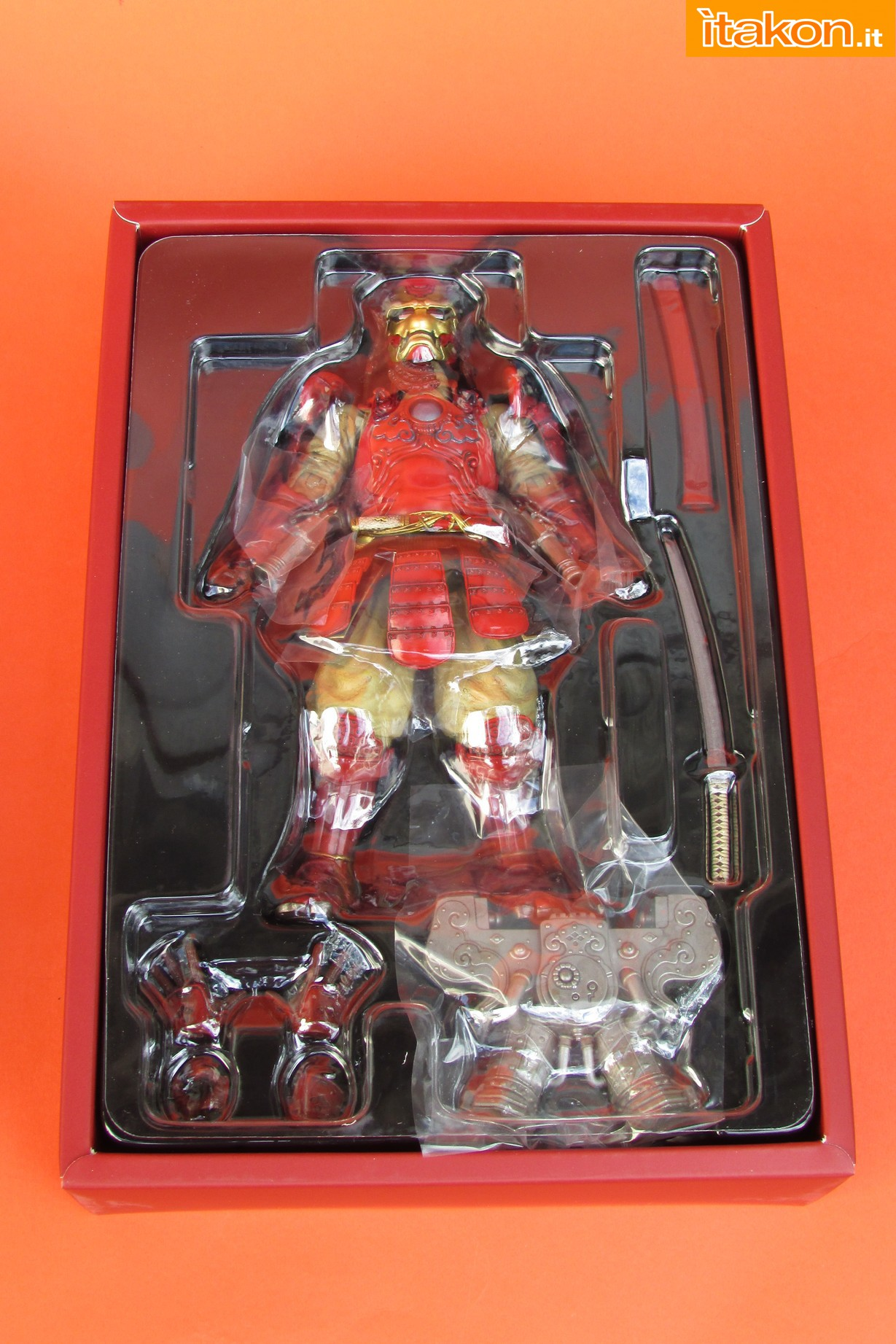 Link a Marvel Comics Koutetsu Samurai Iron Man Mark 3 Meishou MANGA REALIZATION review Bandai Itakon.it08