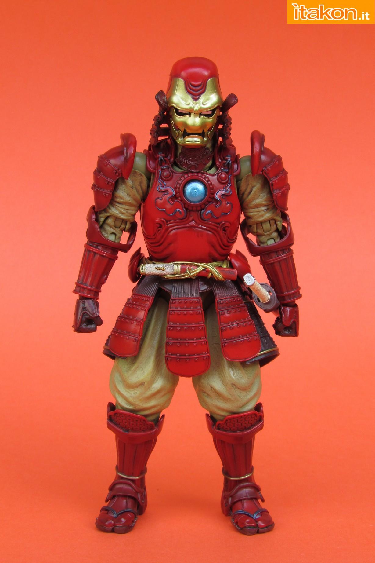 Link a Marvel Comics Koutetsu Samurai Iron Man Mark 3 Meishou MANGA REALIZATION review Bandai Itakon.it11